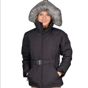 The North Face Greenland Gray Womans Jacket Coat